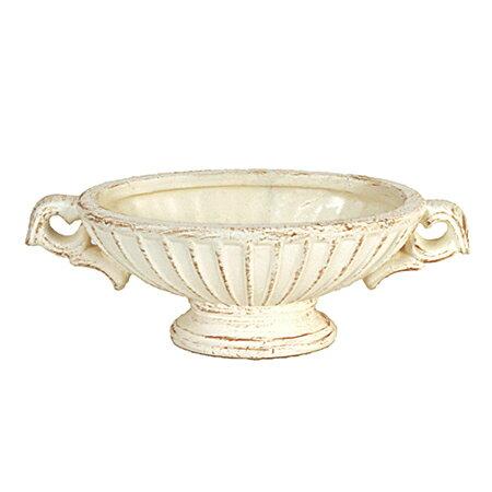 即日 東京堂/イルマーレオーバルS #13 アイボリー/CX000172-013《 花器、リース 花器・花瓶 陶器花器 》