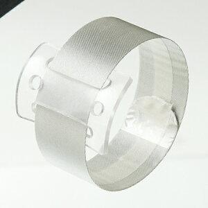 ラップリストレットアイボリー(6コ)W2.4×L23CM基部4.5×3.26個/SJ062204【01】【取寄】花資材・道具 ブローチ・コサージュピン、金具 手作り 材料