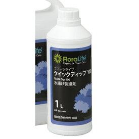 即日 フローラライフ クイックディップ100 1L 1000/SJ032009 花資材・道具 切花栄養剤・促進剤 水揚げ促進剤