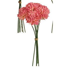 即日 【造花】MAGIQ(東京堂)/ベルエマムピック #2  PINK 6本/FM000500-002《 造花(アーティフィシャルフラワー) 造花 花材「か行」 キク(菊)・ピンポンマム 》