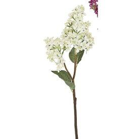 【造花】MAGIQ(東京堂)/フレリアライラック ホワイト/FM003797-001【01】【取寄】