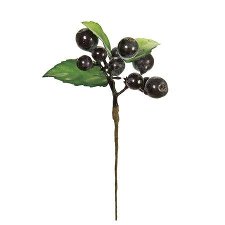 【造花】MAGIQ(東京堂)/ブルーベリーピック BL/PP/FM004842【01】【取寄】《 造花(アーティフィシャルフラワー) 造花実物、フェイクフルーツ ベリー 》