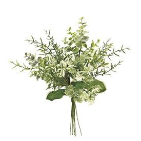 即日 【造花】MAGIQ(東京堂)/フロッキーグラスブーケ LT.GREEN/FG009341《 造花(アーティフィシャルフラワー) 造花葉物、フェイクグリーン その他の造花葉物・フェイクグリーン 》