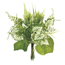 即日 【造花】MAGIQ(東京堂)/フレッシュグリーンブーケ #23 LT.GR/FG007764-023《 造花(アーティフィシャルフラワー) 造花葉物、フェイクグリーン その他の造花葉物・フェイクグリーン 》