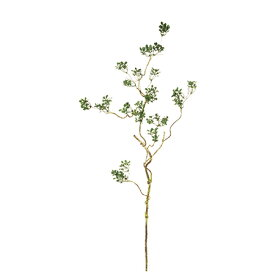 即日 【造花】MAGIQ(東京堂)/ハートリーフ ツイッグスプレー GREEN/FG002607《 造花(アーティフィシャルフラワー) 造花枝物 その他の造花枝物 》