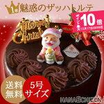 本格派チョコレートケーキで素敵なクリスマスを...。