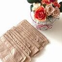 華布のオーガニックコットンのハギレで作った使い捨て布ナプキンライナー/15枚/旅行用/お試しにも 布ライナー 日本製