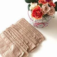 華布のオーガニックコットンのハギレで作った使い捨て布ナプキンライナー/15枚/旅行用/お試しにも
