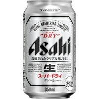 アサヒ スーパードライ 350ml ケース(24本入り) 【ビール】 (※合計3ケースまで1梱包同梱可能、合計4ケース以上または他商品同時購入の場合ご注文確定後別途送料加算。)