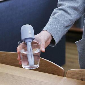 PRISMATE充電式ポータブル加湿器PR-HF039携帯用加湿器ペットボトルかわいい簡易旅行ホテルオフィスデスク車USB充電全3色ギフトポイント2倍