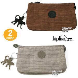 【ネコポス可】キプリング ポーチ K13265 Kipling Creativity L Basic 化粧ポーチ アクセサリーポーチ ペンシルケース モンキーチャーム ag-862500 ブランド