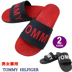 トミーヒルフィガー サンダル twYEVI TOMMY HILFIGER シャワーサンダル メンズ レディース 男性 女性 男女兼用 ラバーサンダル スポーツサンダル ag-215700