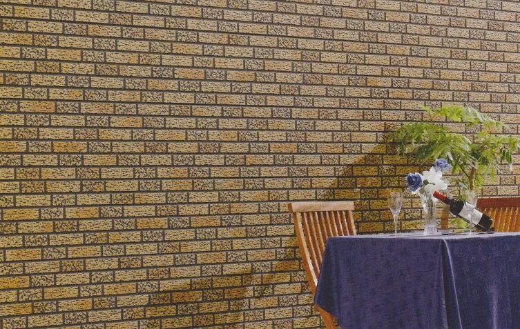 ★旭トステム外装 『ラグジェスブリックSX』 セルクリーンコート仕様 本体 ブリックデザイン 超深絞り スリートン塗装 12.5尺 長さ3788ミリ GLガルバリウム鋼板製 Dan 金属サイディング 横張り ヨコ<外壁のリフォーム工事>LIXIL