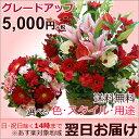 【送料無料/あす楽対応】誕生日のお祝いに 成人式に バレンタインに そのまま飾れる季節の花のフラワーアレンジメント(アレンジメント…