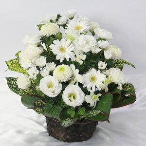 季節の生花をアレンジしたお供え花