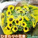 花 ギフト ひまわりの花束 2Lサイズ 送料無料 フラワーギフト 誕生日 お祝 宅配 プレゼント お見舞い