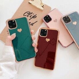 iPhone 12 12mini 12promax 11Pro/11/XR/11Pro Max/8 Plus/7Plus/XS/X/8/7/SE(第2世代)専用 ケース iPhoneケース ハート 韓国 可愛い スマホケース シンプル ガーリー アイフォンケース アイフォン