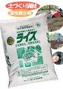 有機土壌改良材・発酵促進菌【ライズ】 粉状 15kg 2袋セット(30kg) 貝化石・カニガラ・粉炭入り ライズ菌で完全発…