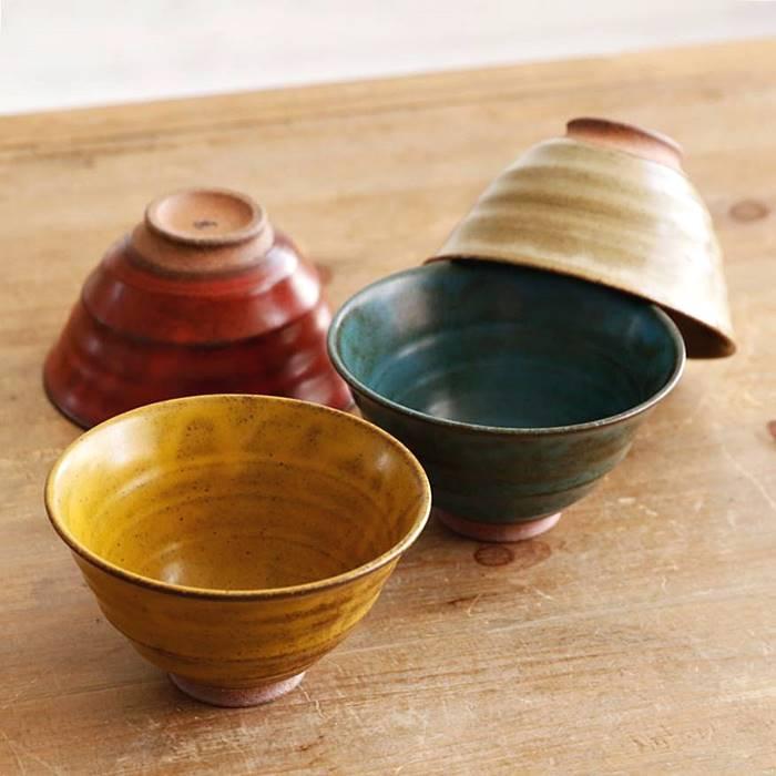 有田焼 波佐見焼 お茶碗 カラーマット 東原窯 | おしゃれ 可愛い 茶碗 ご飯茶碗 ご飯茶碗 軽い