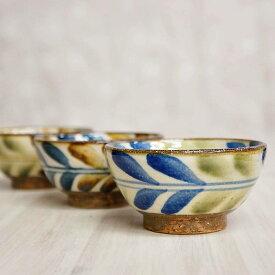 やちむん マカイ 3.5寸 茶碗 陶芸こまがた デイゴ柄   茶わん 皿 焼き物 やちむん焼き 沖縄 陶器