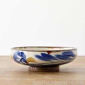 やちむん 浅鉢 やちむん工房 5寸鉢 染付唐草   皿 食器 沖縄陶器 焼き物 作家