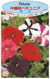 中輪咲ペチュニア 混合【種子】 福花園種苗