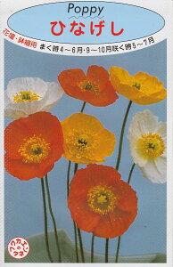 ひなげし ポピー【種子】福花園種苗