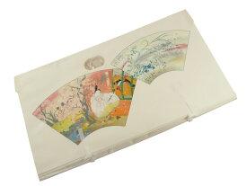セール 扇面柄 大切なお着物の保存に たとう紙 帯・長襦袢用 64×34cm 1枚から買えます