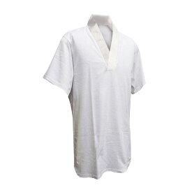 絽半衿 紳士用 綿 肌着 Tシャツ半襦袢 半袖 S〜3Lサイズ ot-104