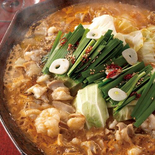 《辛みそ味》赤もつ鍋セット(3〜4人前)送料無料【博多華味鳥 公式ショップ】