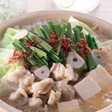 博多華味鳥の白もつ鍋(イメージ)