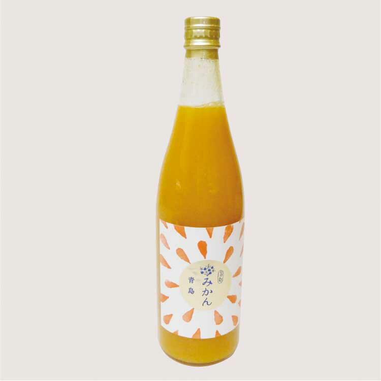 愛知 お土産 蒲郡みかんジュース 青島720ml 果汁100% 蒲郡 お土産 みかん ミカン
