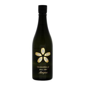 日本酒 生酒(ワイン酵母仕込み) 花の舞 Abysse(アビス) 720ml 【低アルコール】【女子会】【送料無料】 金賞受賞蔵の静岡の地酒を