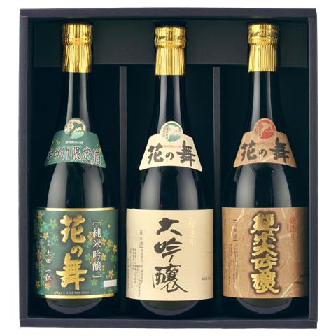 日本酒 吟-100 吟醸酒3本ギフトセット(720ml×3本) 【楽ギフ_のし】 【送料無料】 贈り物 金賞受賞蔵の静岡の地酒を