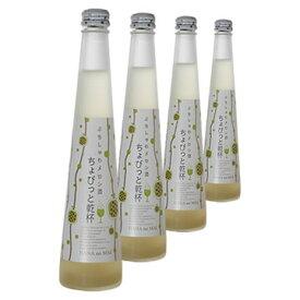 スパークリング メロン酒【送料無料】花の舞ちょびっと乾杯ギフト箱4本セットぷちしゅわメロン酒(300ml)×4