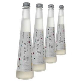 スパークリング 日本酒 花の舞 ちょびっと乾杯微発泡清酒プレーン4本セット ギフト箱(300ml)×4 【送料無料】【女子会】