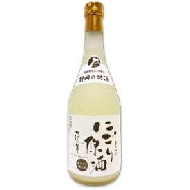 日本酒 花の舞 辛口純米にごり原酒 720ml 【送料無料】 ひな祭り 金賞受賞蔵の静岡の地酒を