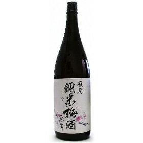 梅酒【送料無料】花の舞 蔵元純米梅酒 1800ml 贈り物 金賞受賞蔵の静岡の地酒を