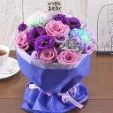 送料無料 あす楽 誕生日プレゼント 花 ギフト 4色から選べる プチブーケ ブーケ ミニブーケ ミニ花束 生花 季節の花 かわいい 可愛い …