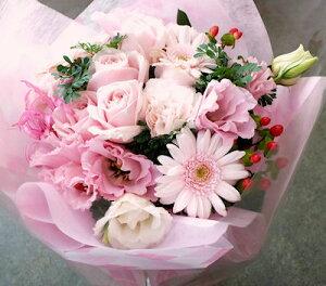 カラーセレクトピンク系ボリューム花束