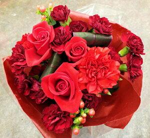 花束7色から選ぶカラーセレクトブーケ(誕生日お祝いお供え敬老の日プレゼント花【楽ギフ_包装】【楽ギフ_メッセ】【楽ギフ_送料無料】)