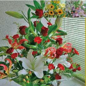 生花アレンジメント『ご希望の色合い・イメージで花屋さんの手作り。画像配信・メッセージカードOK 』【送料無料】【沖縄・九州・四国・中国・離島はNG】