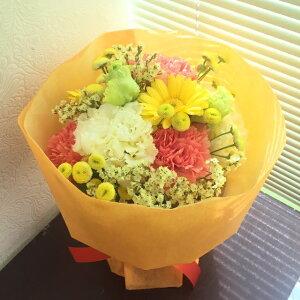花瓶がいらないそのまま飾れるスタンディングブーケ<高さ23センチ>『イメージカラーお選び下さい』【手作り&鮮度重視】【あす楽】【送料無料】【沖縄・離島はNG】