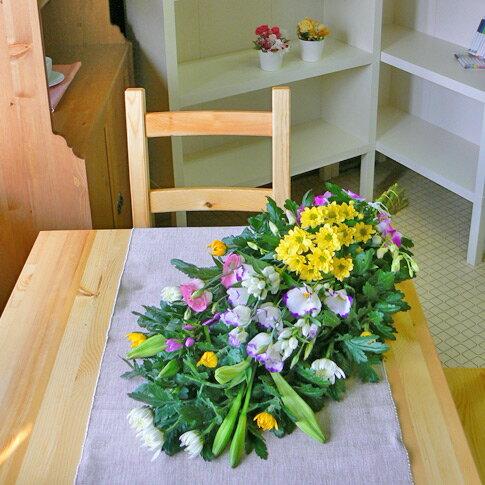 お供え花束<和花B>【品質保証★花】【お盆 花】【お盆 お供え】【花 お供え】