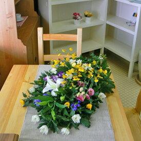 お供え花束<和花C>【品質保証★花】【お盆 花】【お盆 お供え】【花 お供え】
