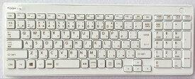 ワイヤレスキーボード(2.4GHz)+マウスセット:新品東芝Dynabook REGZA D710シリーズ等用(KG-1177,白, 6037B0090401)国内発送