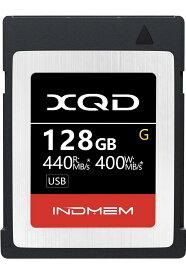 4K対応 XQDカード 128GB INDMEM