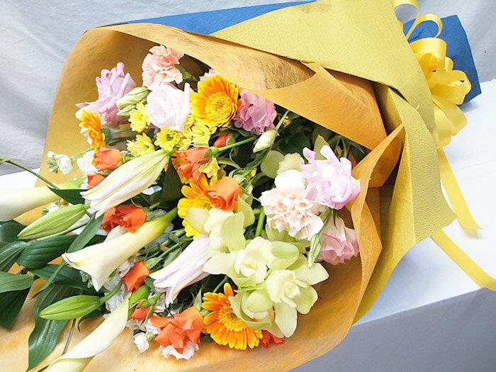 花束 送別会 歓迎会 ギフト 誕生日 花 送料無料 還暦祝い お祝い 花束 結婚祝い お見舞い 退職祝い フラワーギフト