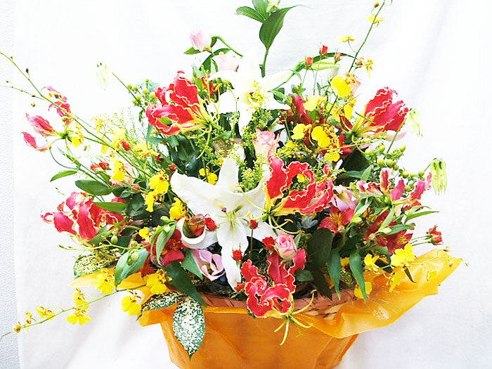 フラワーアレンジメント 花 誕生日 送料無料 アレンジメントフラワー ギフト