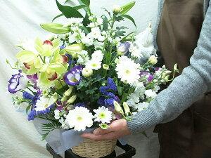 お供え花アレンジメントお悔やみ